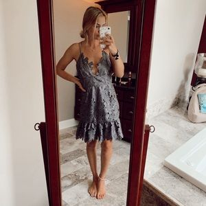 Free People x Saylor party dress